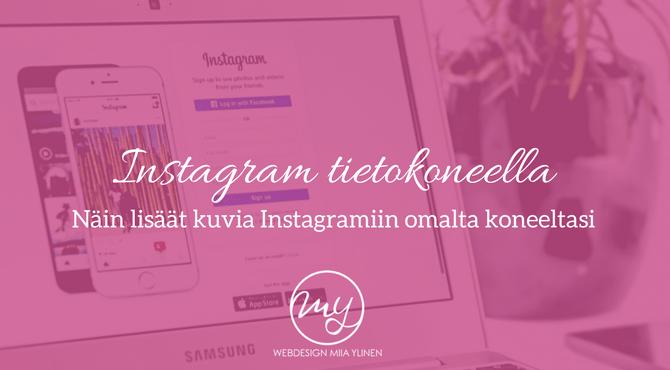 Instagram Käyttö