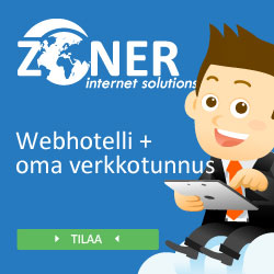Webhotelli ja domain